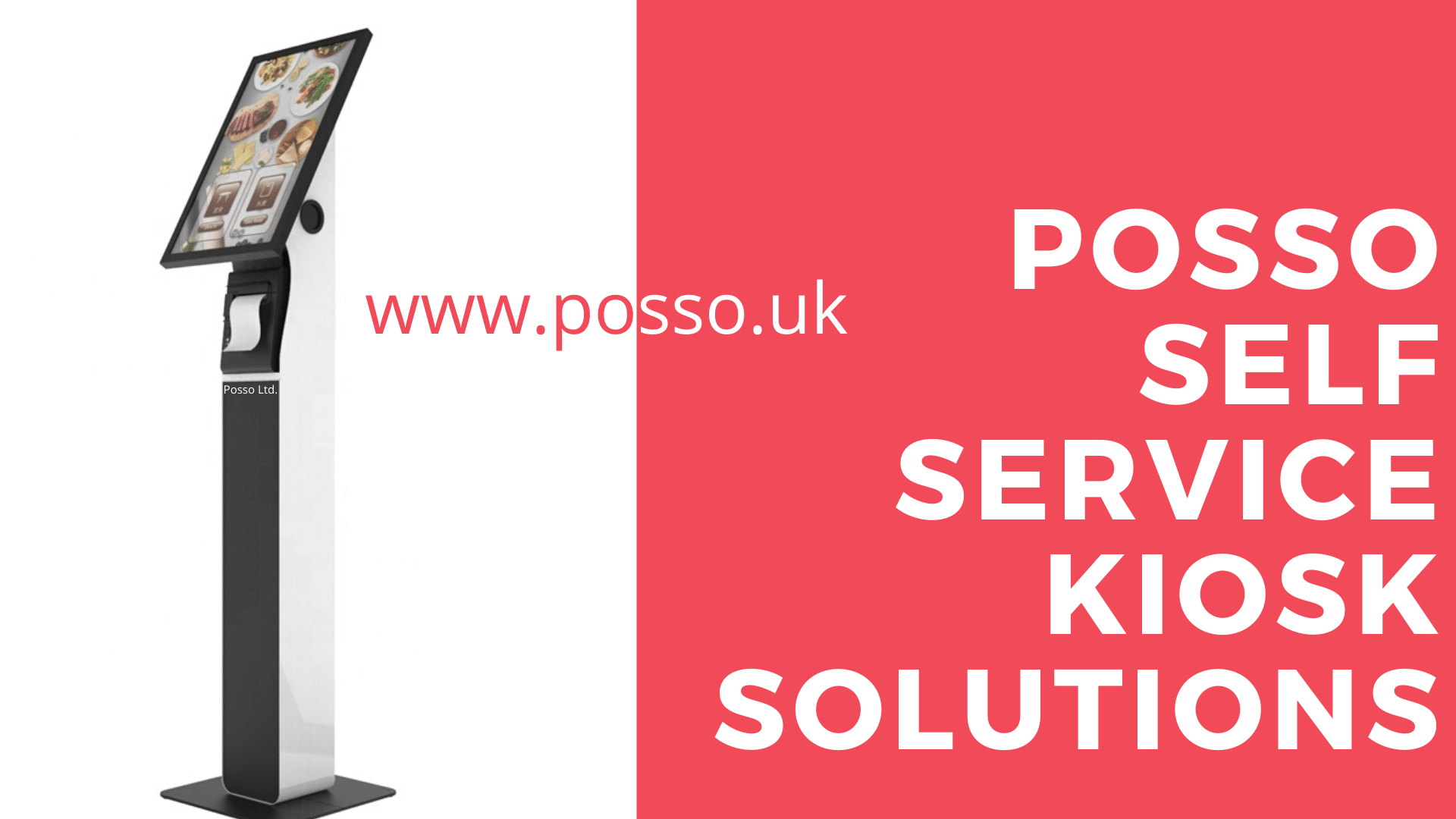 Posso Self order self service restaurant kiosk Systems