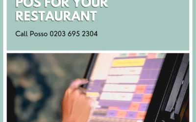 Best pos for restaurants in UK Posso Ltd. UK epos systems