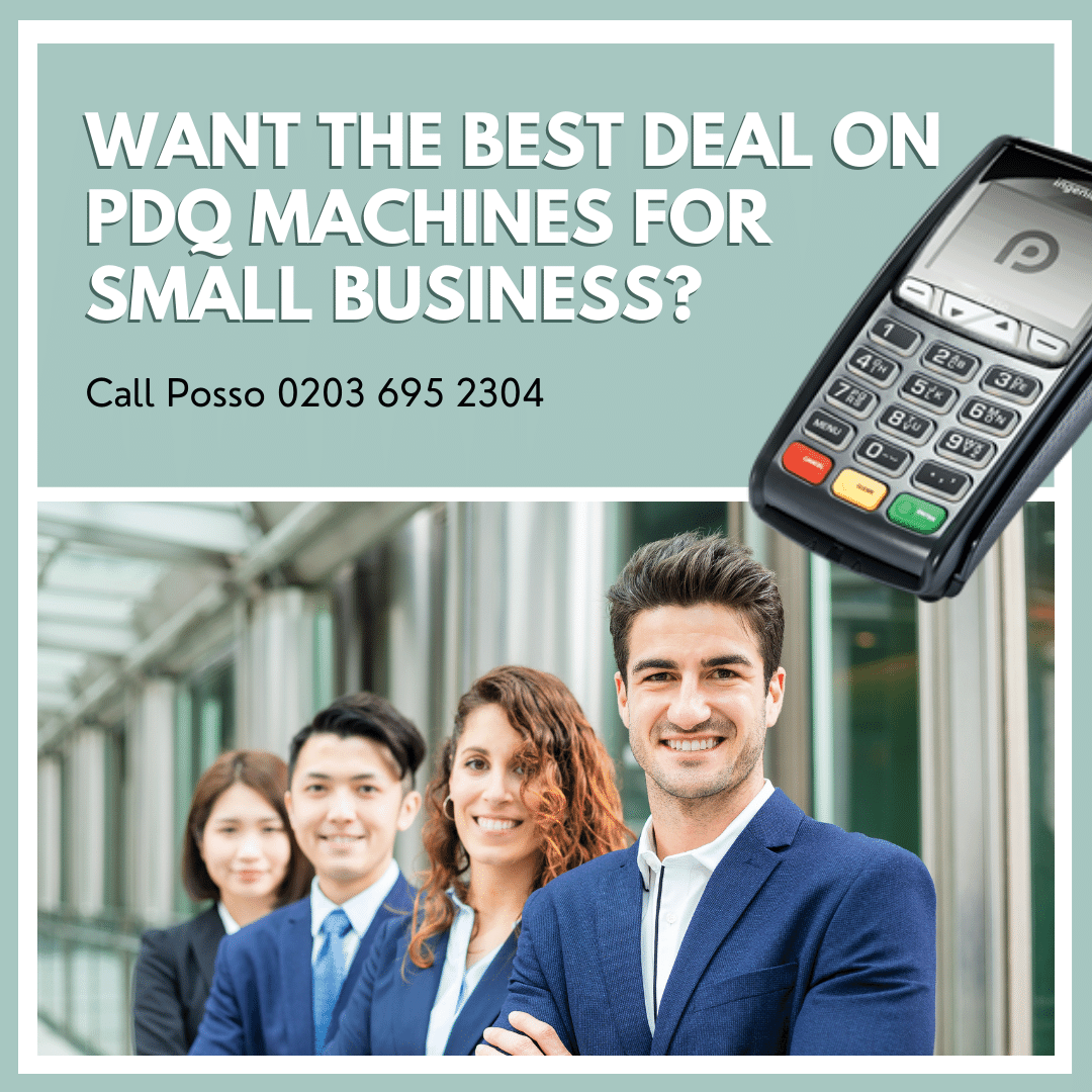 Picture of PDQ machine for small business