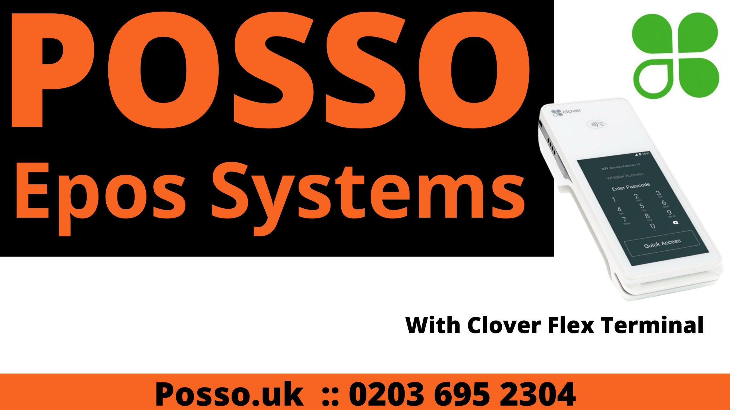 Clover flex terminal