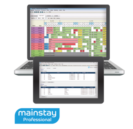 mainstay hotel booking on your epos